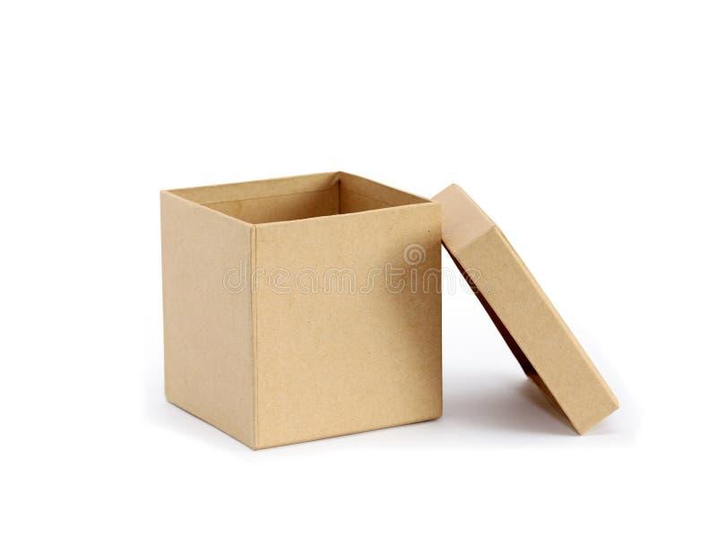 Opróżnia pudełko zdjęcie stock
