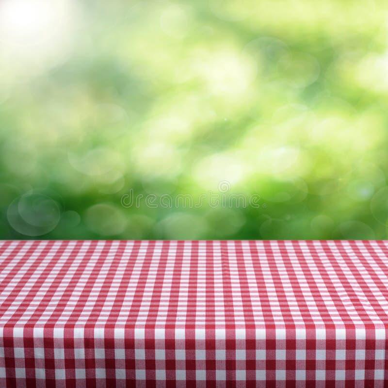 Opróżnia stół obrazy stock