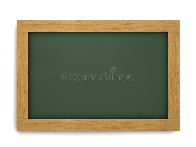Opróżnia Szkolnego Chalkboard obraz royalty free