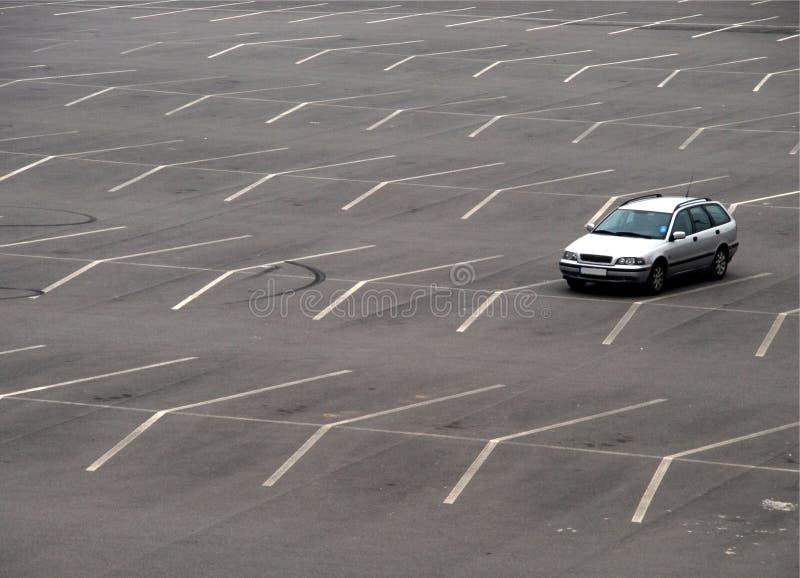 opróżnia udziału parking fotografia royalty free