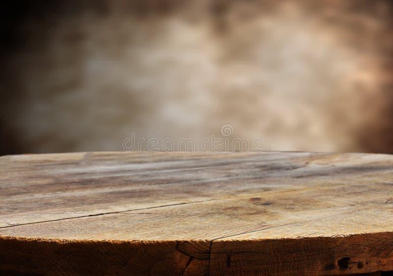 opróżnij stół obrazy royalty free