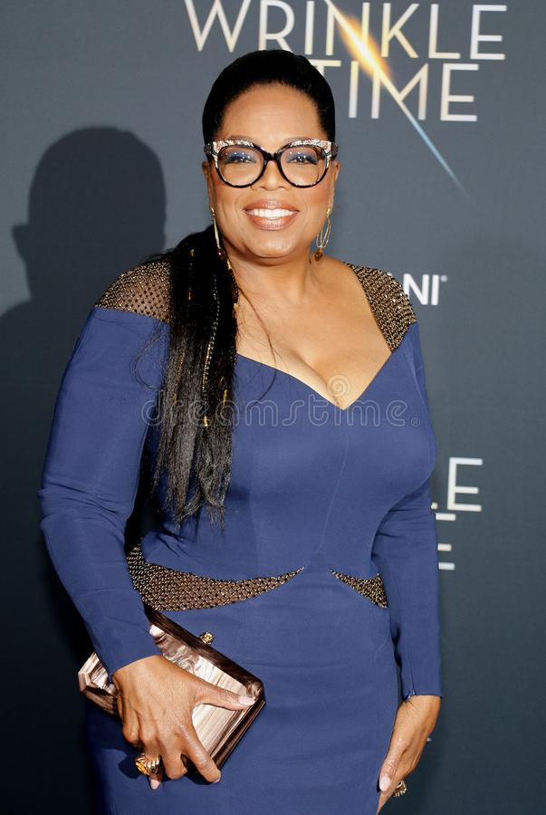 Oprah Winfrey стоковое фото