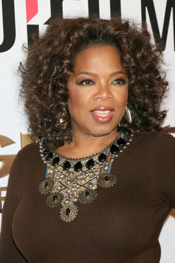 Oprah Winfrey стоковые фото