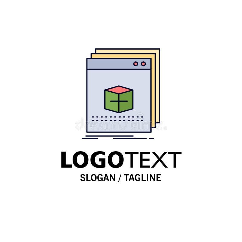 oprogramowanie, App, zastosowanie, kartoteka, programa koloru ikony Płaski wektor ilustracji