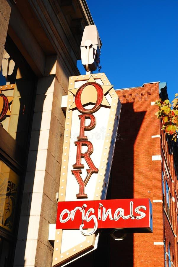 Opry Originals, Nashville royalty free stock photography