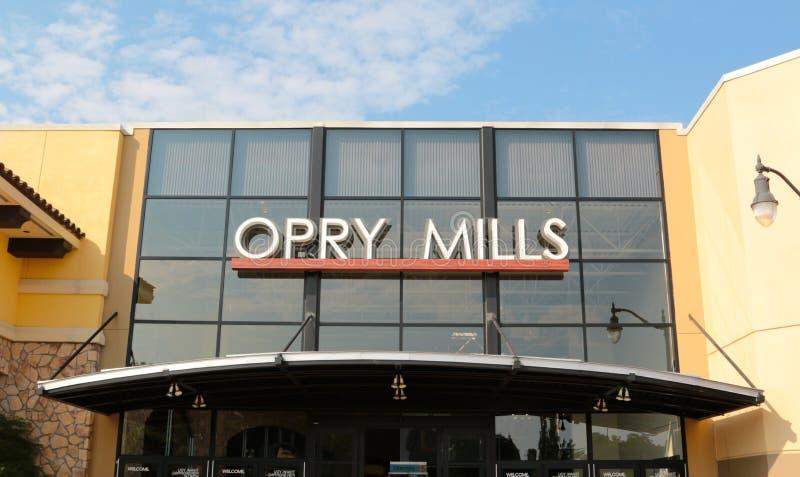 Opryen Mills Mall, Nashville, Tennessee royaltyfria bilder
