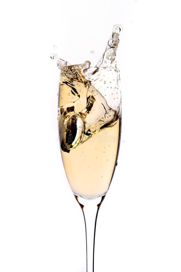 opryskania szampania fotografia stock