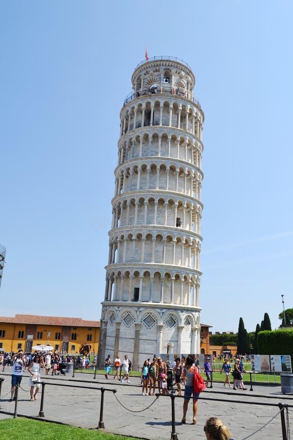 oprzeć wieżę w pizie obrazy royalty free