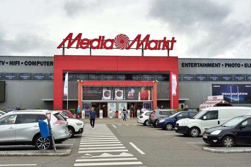 Opslag middel-Markt stock fotografie
