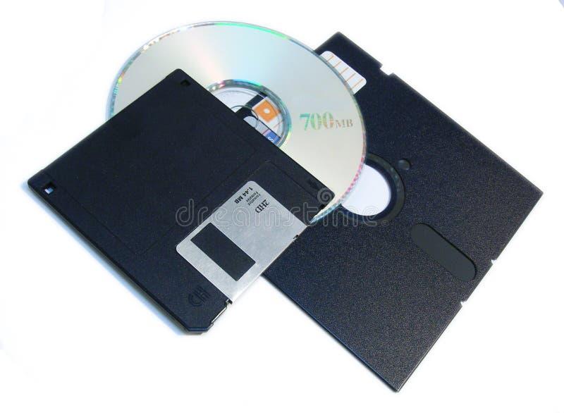 Opslagmiddelen van de computer royalty-vrije stock foto