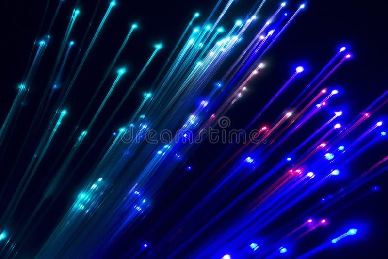 optic fiber light stock photos