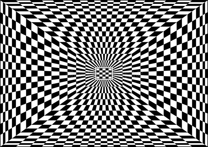 Optical Art stock illustration