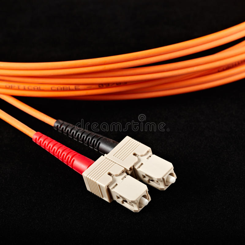 Optical cable royalty free stock images