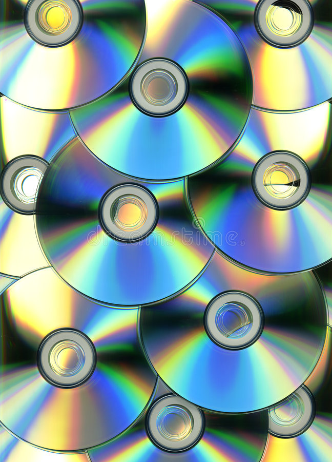 Optical disc background. Optical disc concept image background stock photography