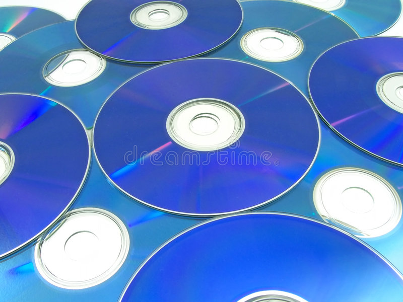 Download Optical Discs 01 stock image. Image of abstract, pattern - 452315