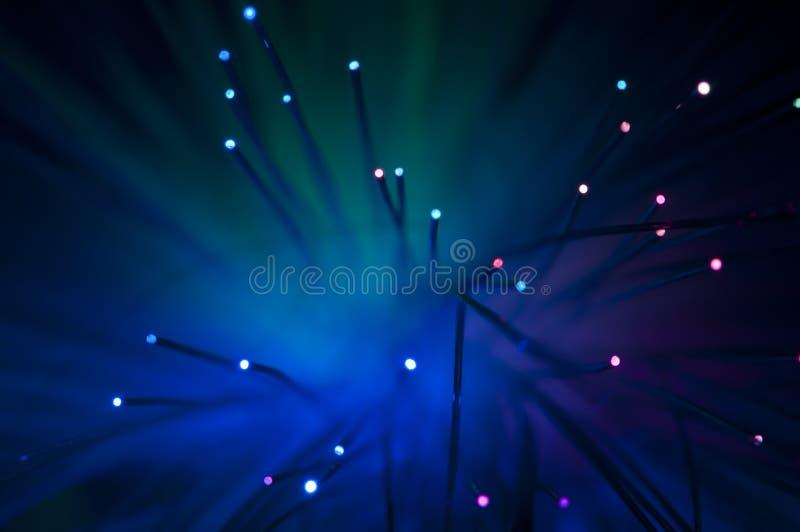Optical Fibers Stock Photo