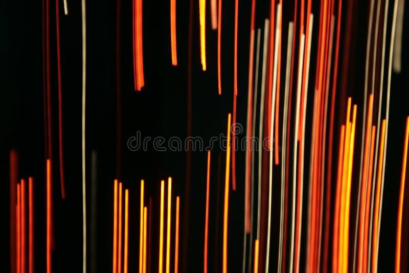 Optical fibres-light lines stock photos