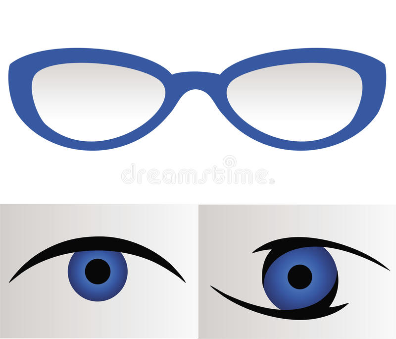 Download Optical - Glasses, lenses. stock vector. Image of glass - 32528984