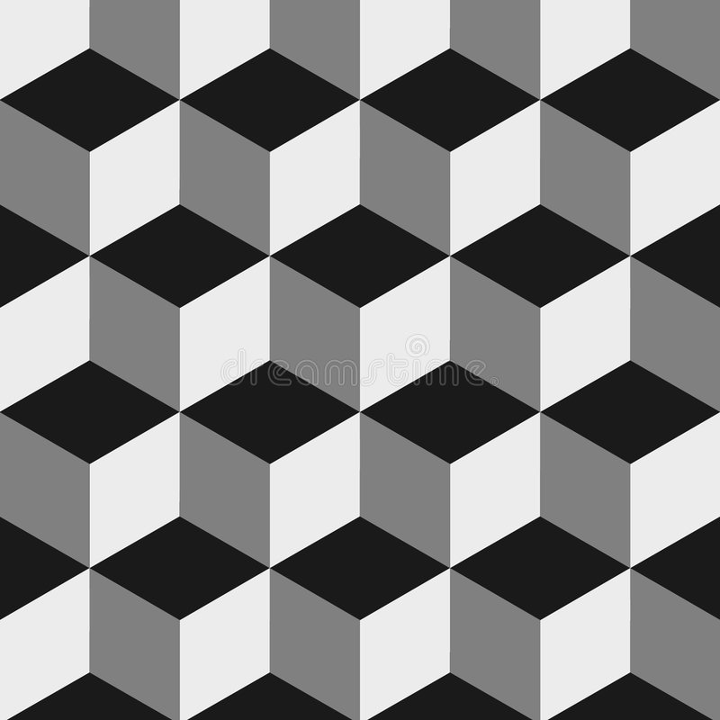Optical illusion royalty free illustration