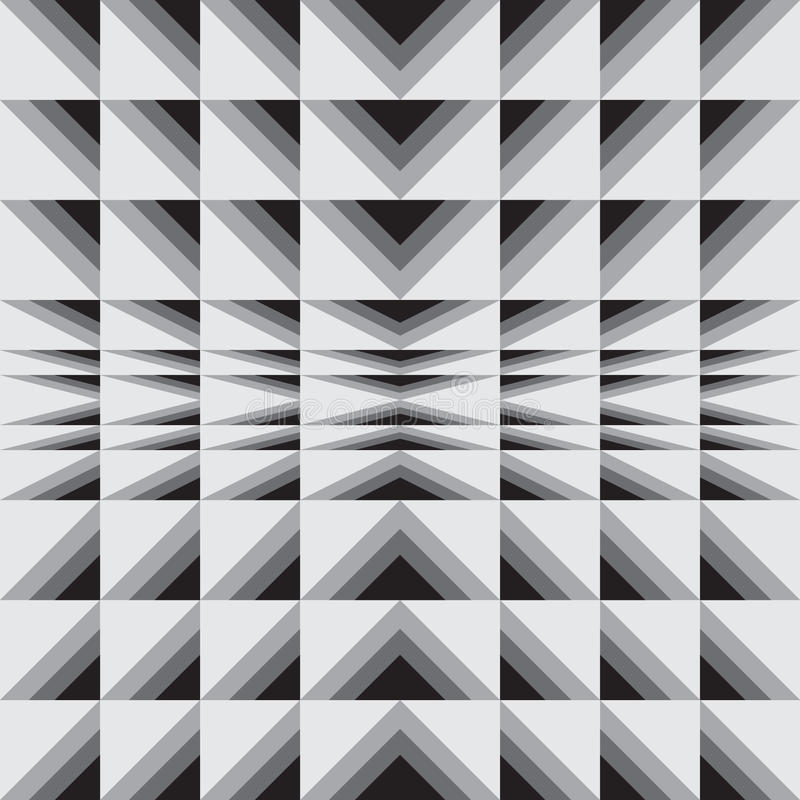 Optical illusion royalty free illustration