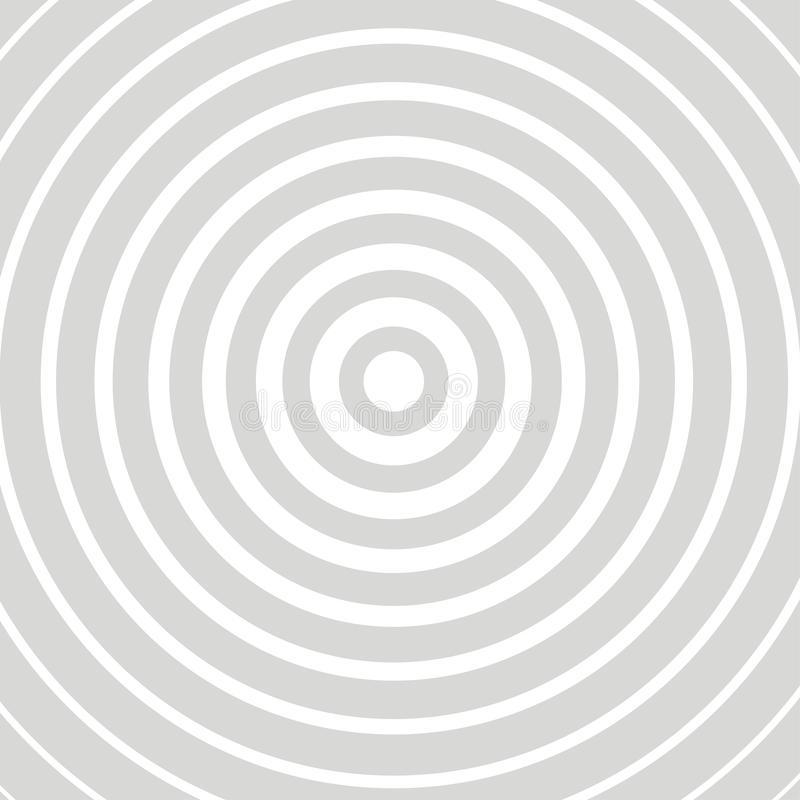 Optical illusion gray card royalty free illustration
