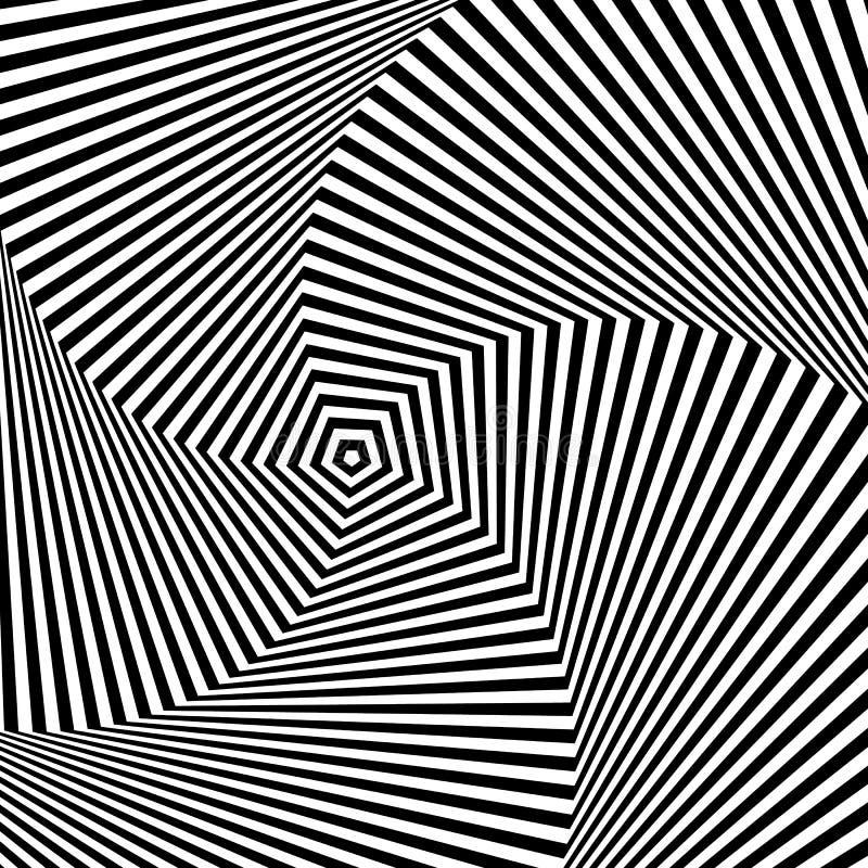Optical Illusion Stock Vector