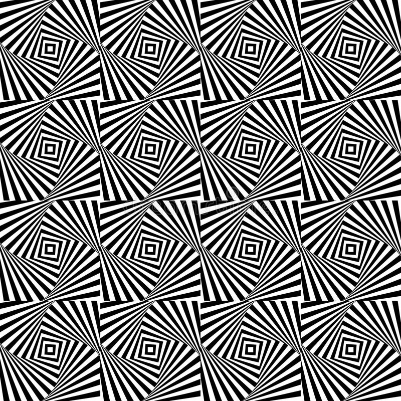 Download Optical Illusion,  Seamless Pattern Eps 10 Stock Vector - Image: 41270909