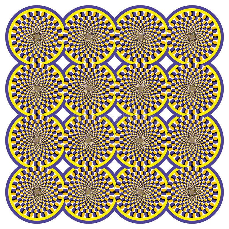 Download Optical Illusion Spin Cycle (Vector) Stock Vector - Image: 26473228