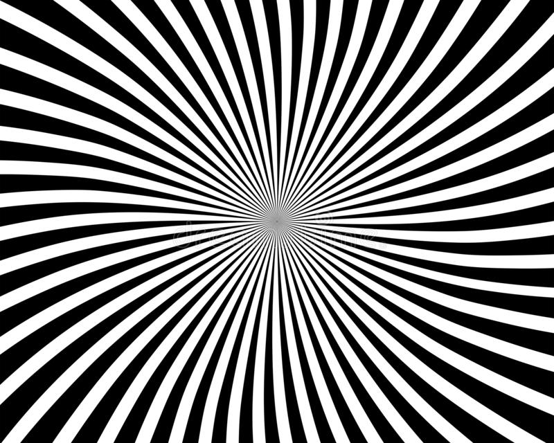 Optical illusion spiral background royalty free stock images