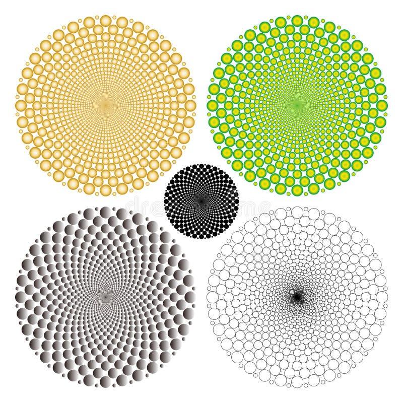Optical illusion (Vector) stock photo