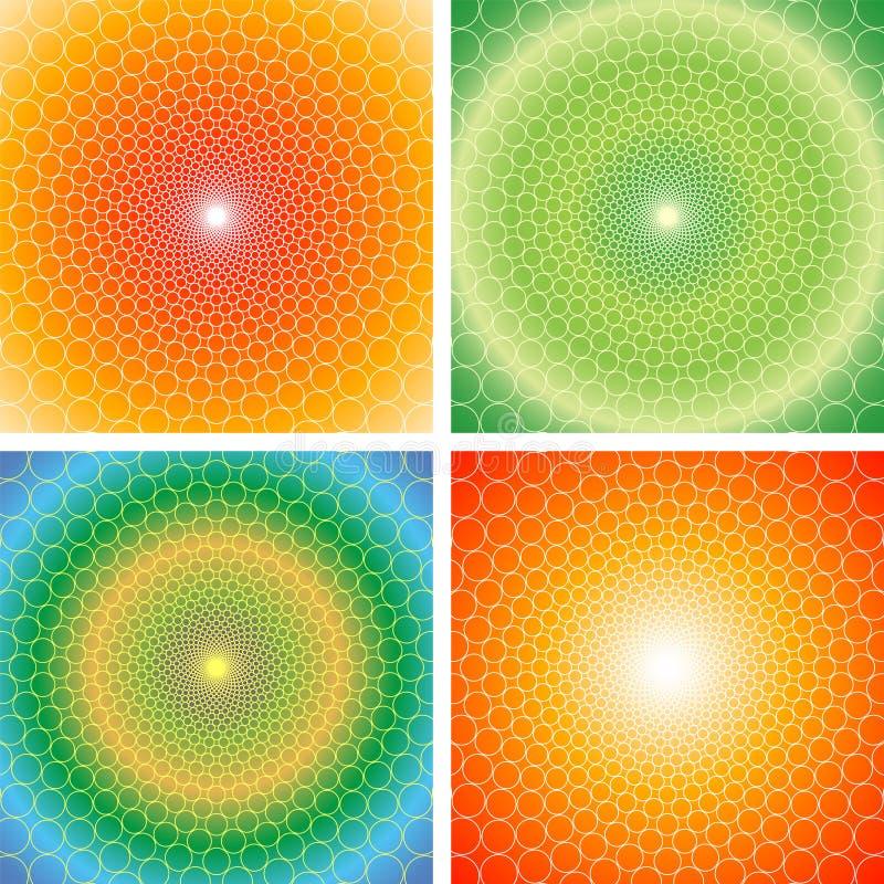Optical illusion (Vector) royalty free stock photos