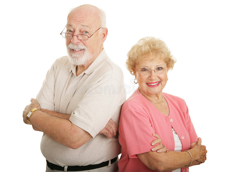 Download Optical Series - Attractive Seniors Stock Photo - Image: 4117104