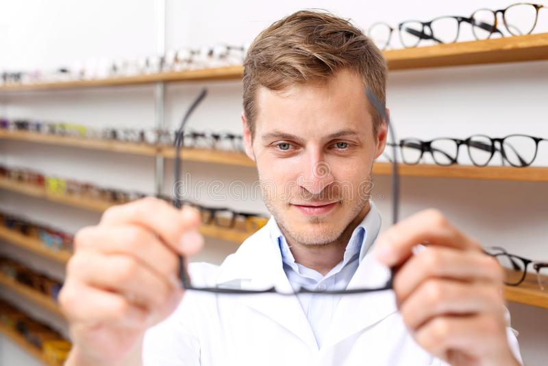 optician immagini stock