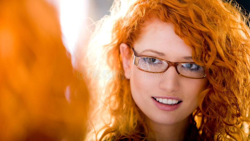 At optician royalty free stock photos