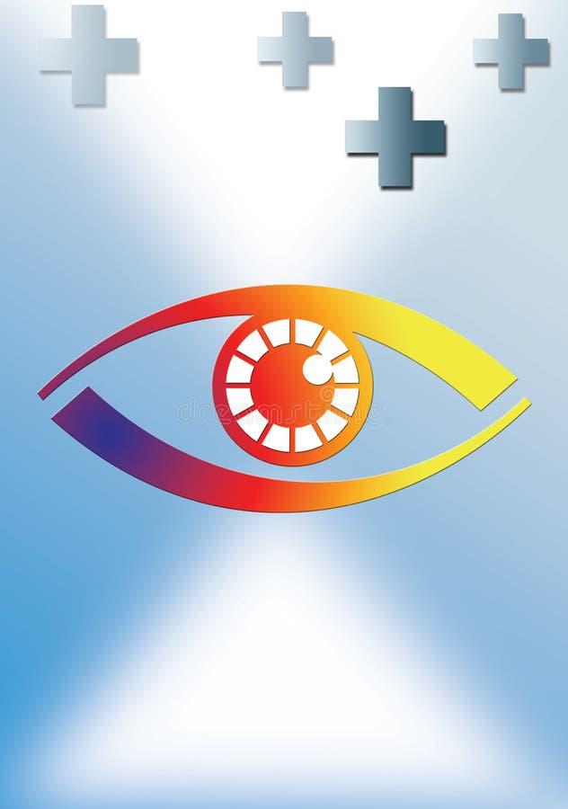 Download Optician stock illustration. Image of hospital, illustration - 2447803