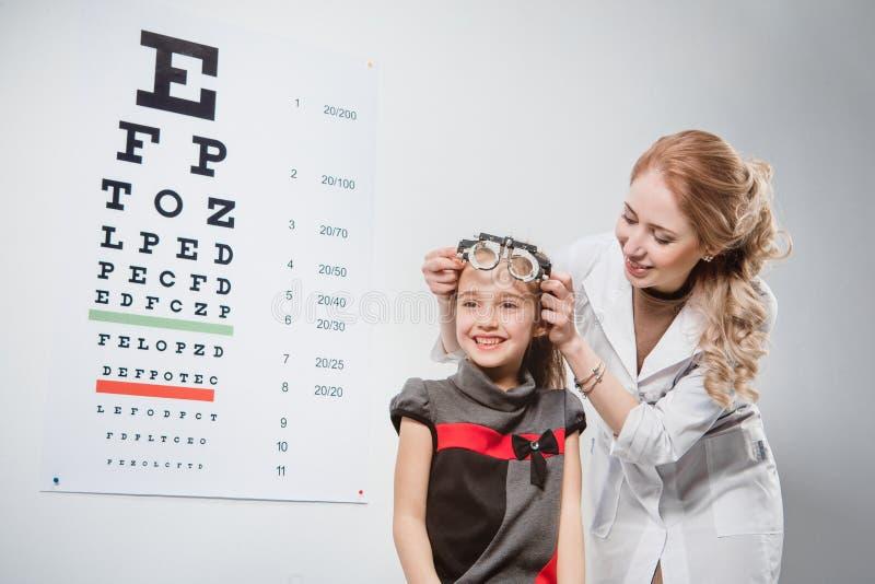 Optician royalty free stock photo