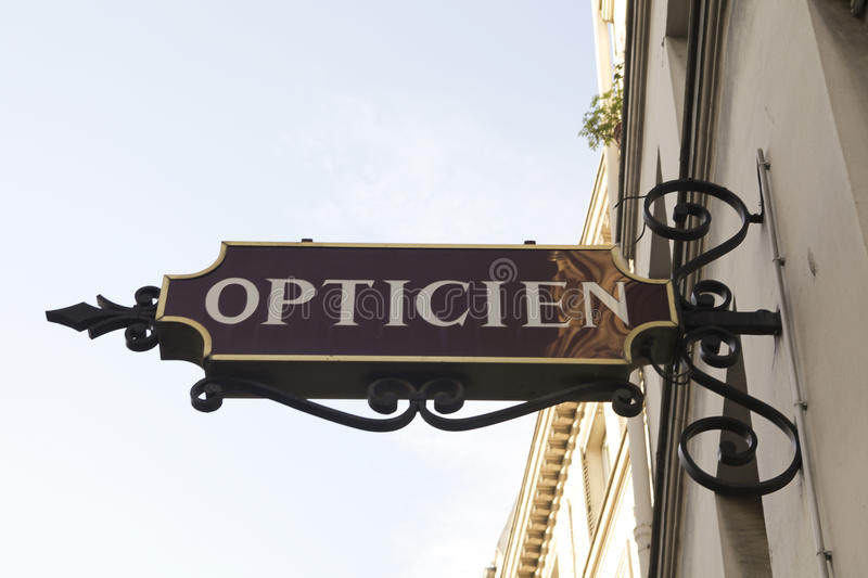 Opticien royalty free stock photos
