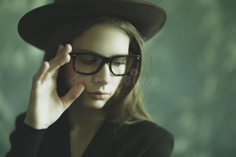 Optics for young stock images