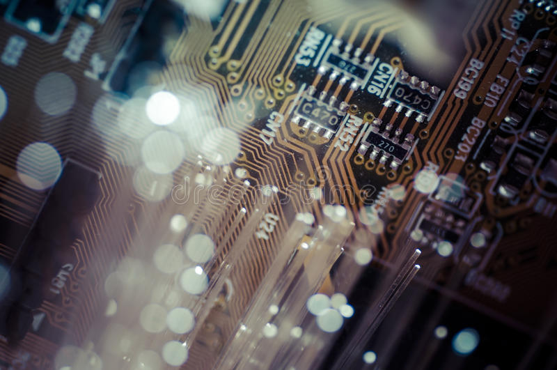optik Optiska kablar för fiber, fiberanslutning, telecomunications royaltyfria foton