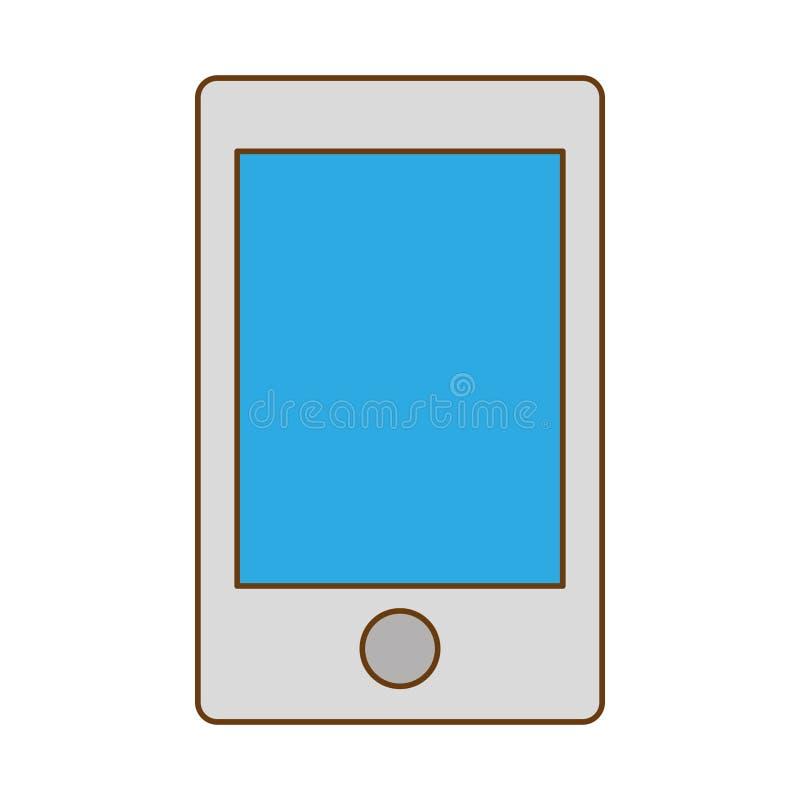 optimalisering en het stemmende pictogram van het smartphonegegevensbestand vector illustratie