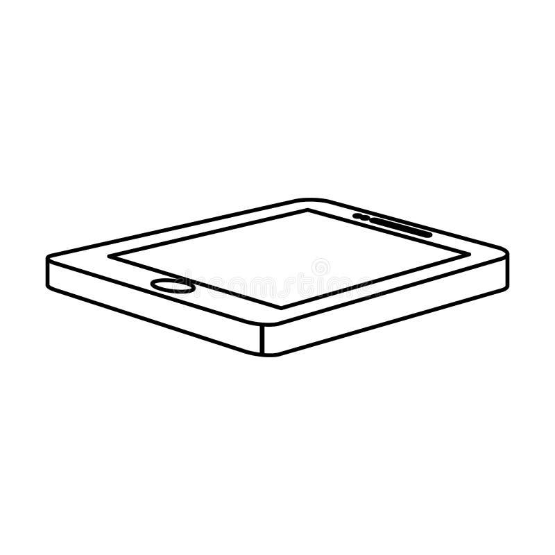 optimalisering en het stemmende pictogram van het smartphonegegevensbestand stock illustratie