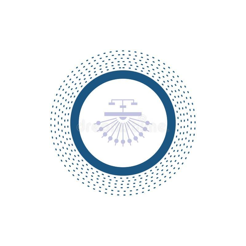 optimalisering, plaats, plaats, structuur, het Pictogram van Webglyph Vector ge?soleerde illustratie vector illustratie
