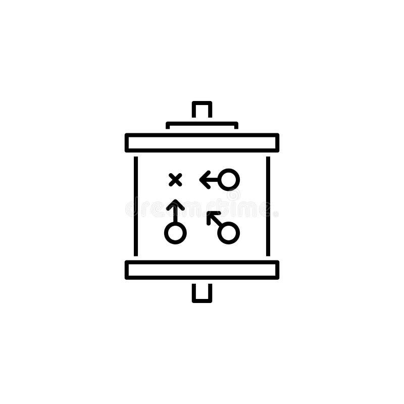 Optimierungslinie Ikone Turbos SEO Teamwork an der Idee Zeichen und Symbole k?nnen f?r Netz, Logo, mobiler App, UI, UX verwendet  vektor abbildung