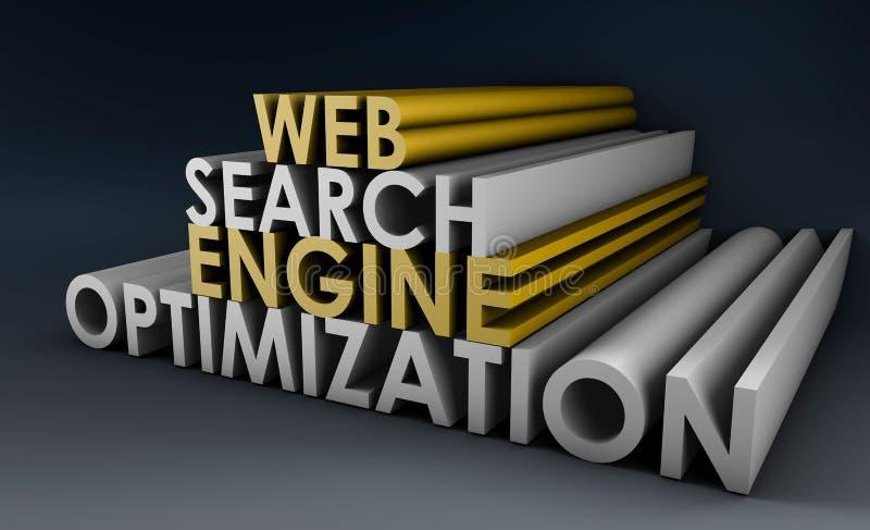 Optimisation de Search Engine illustration libre de droits