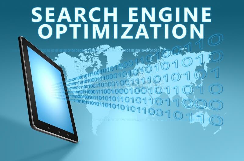 Optimisation de Search Engine illustration de vecteur