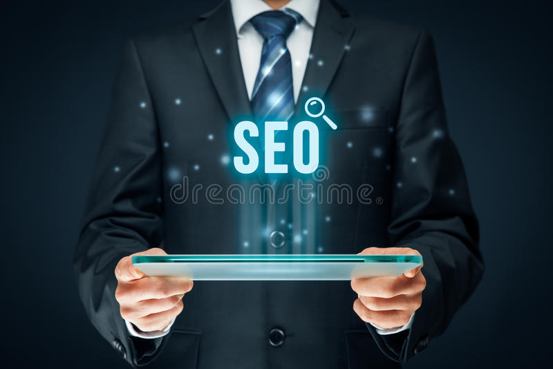 Optimisation de Search Engine de SEO image stock