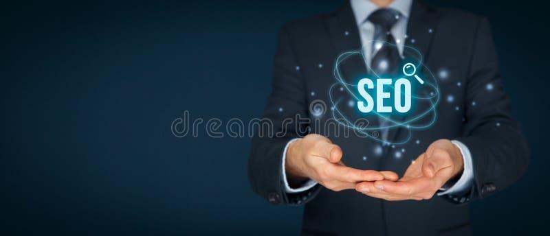 Optimisation de Search Engine de SEO image libre de droits