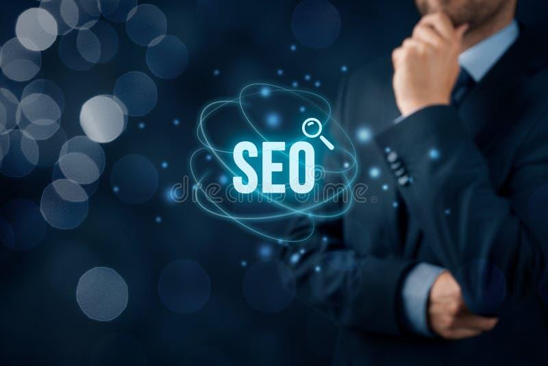 Optimisation de Search Engine de SEO photo stock
