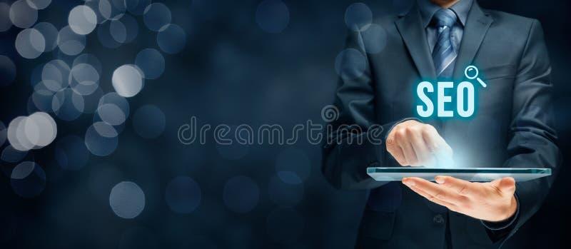 Optimisation de Search Engine de SEO photo libre de droits
