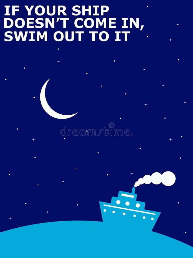 Optimisme illustration stock